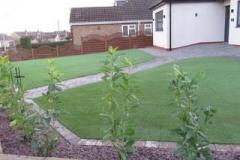 Astro Turfed garden