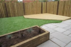 Sleepers & Artificial Lawn