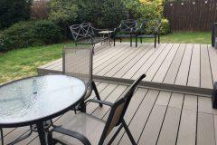 Composite wide Grey deck Board