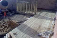 Decking complete