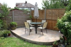 Rainbow Sandstone Patio